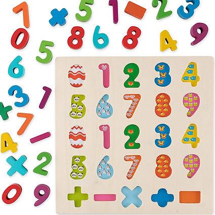 Arabic Alphabet Wooden Game