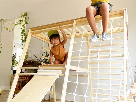 Why prepare climbing frames for children