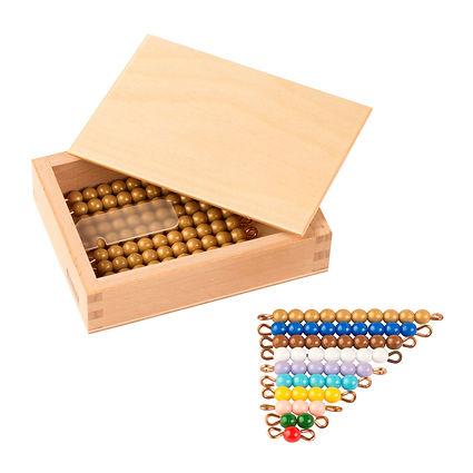 Teen Bead Box: introduction to decimal quantity