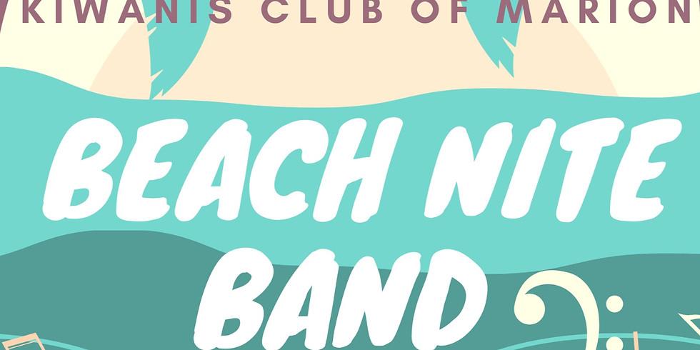 Kwianis Club of Marion Presents: Beach Nite Band