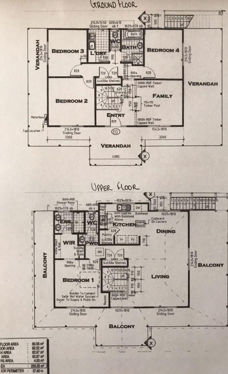 Floorplan - Lot 16 Tweed Rd