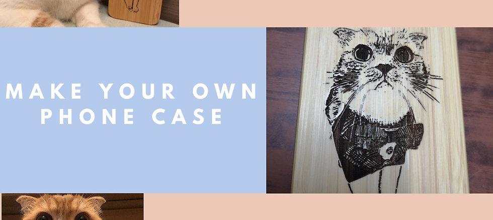 iPhone - Custom Made Phone Case [Wood]