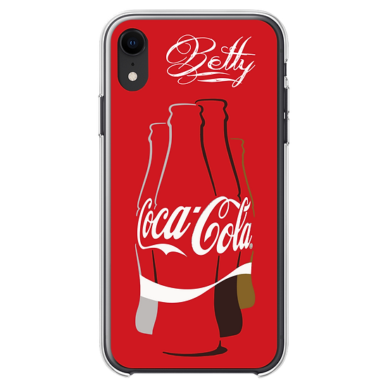 iPhone - CocaCola Phone Case 【Print with your Name】