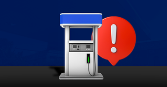 Procedimentos de segurança para descarga de combustível no posto