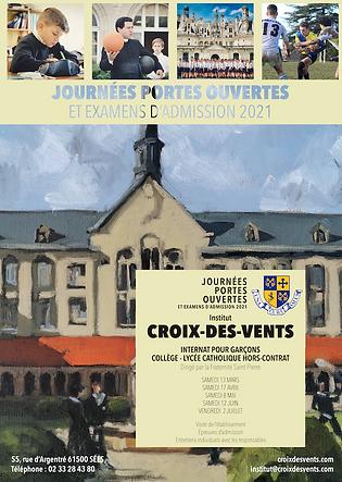 Affiche Journées portes ouvertes ICV - p