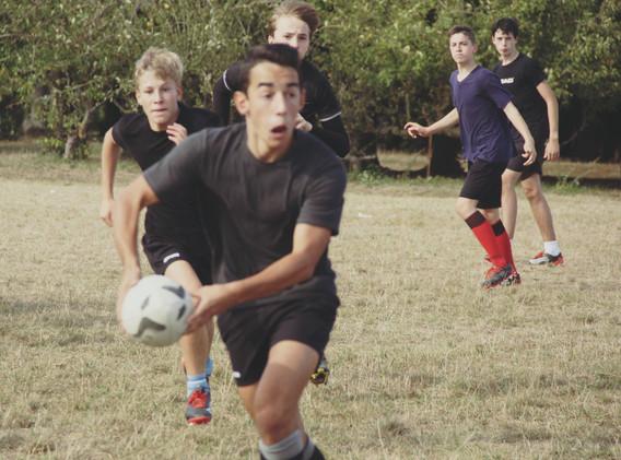 Cours de Rugby - Institut Croix des vent