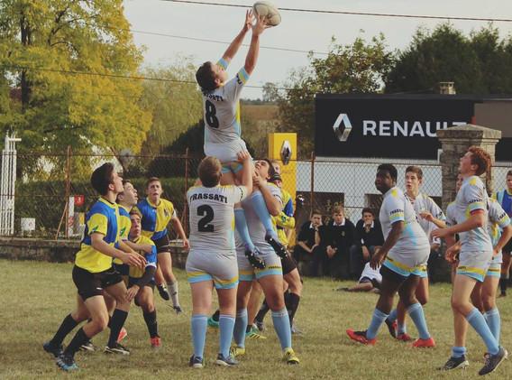 Le rugby à l'institut croix des vents