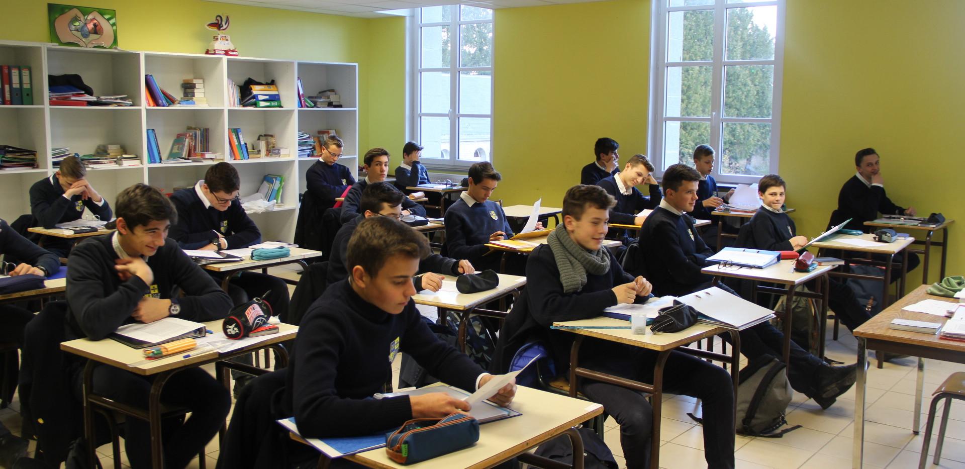 Les études - Institut Croix des vents - internat cath