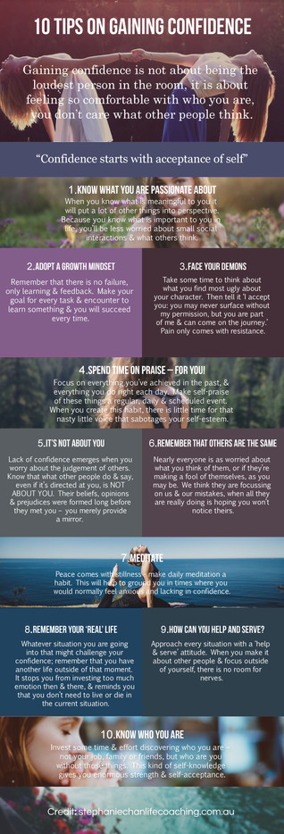 10 Tips to Build Confidence