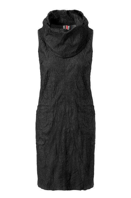 שמלת שרוך ג'ינס שחור