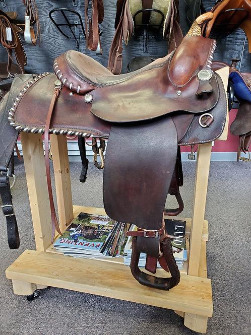 """16"""" Charles Crawley western saddle"""
