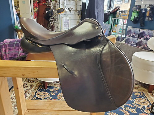 """17.5"""" Black Country all-purpose saddle"""