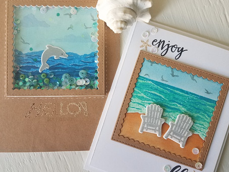 Beachy Cards