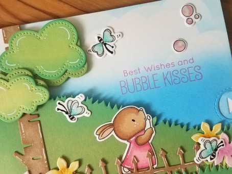 MFT Bubble over with Joy Interactive scene card