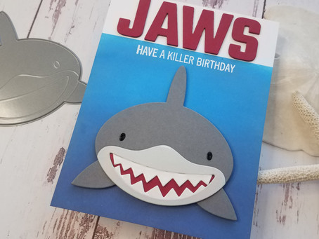 Shark Cards|Slimline and A2 Size Cards