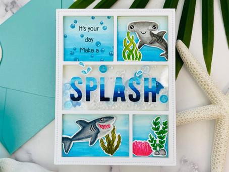 Shark Week Card Event Day 8|Sunny Studio