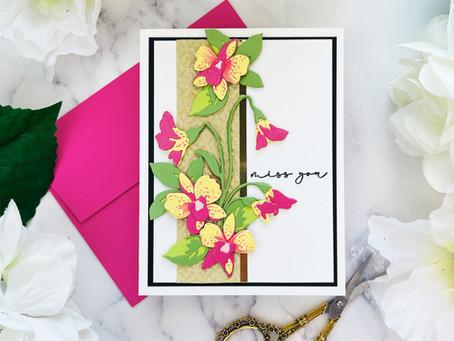 Altenew Craft-A-Flower: Dendrobium Orchid Release Blog Hop + Giveaway