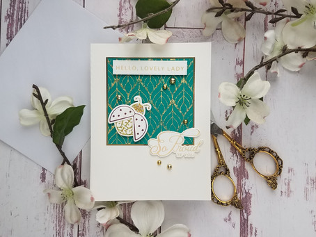 Spellbinders| Sweet Cardlets Collection by Becca Feeken