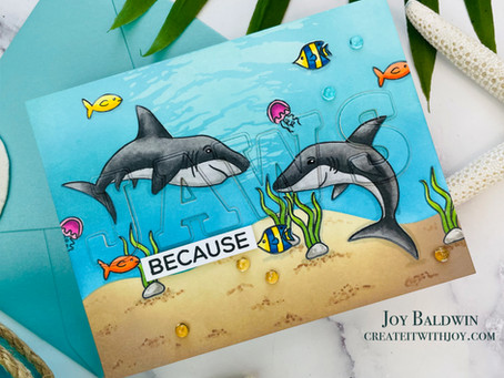 Shark Week Card Event Day 6|Technique Tuesday