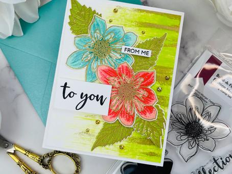 Altenew Build-A-Flower: Fashion Monger Dahlia Release Blog Hop + Giveaway