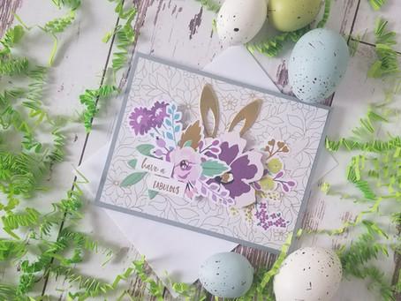 Spellbinders Card Kit Of The Month For March..Feeling Hoppy