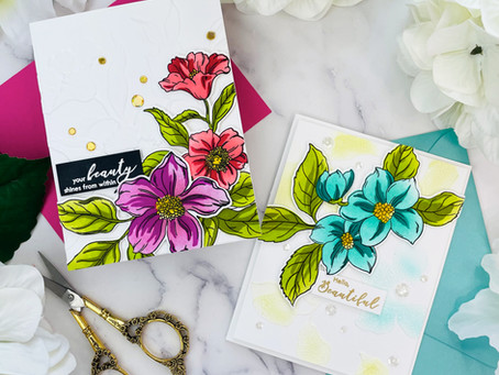 Altenew Craft Your Life Project Kit: Hello Beautiful Release Blog Hop + Giveaway