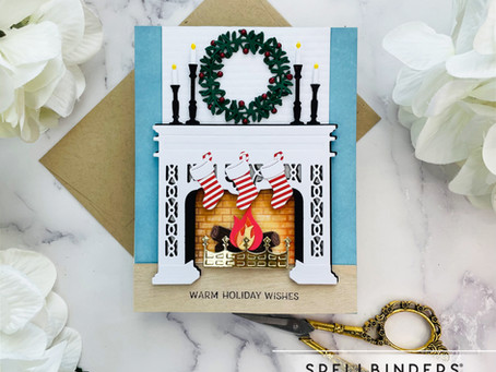 Spellbinders October Large and Small Die of the Month
