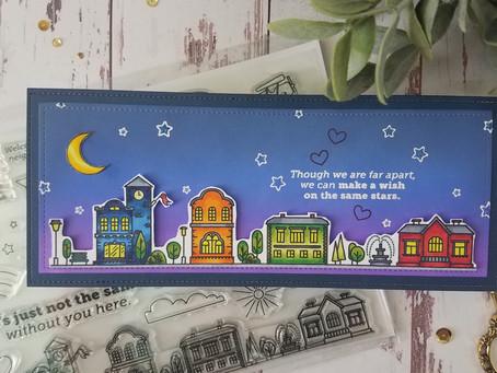 Simon Says Stamp|Home Sweet Home Slimline Card