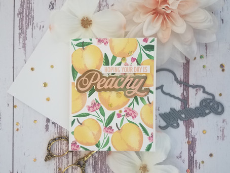 The Greetery|Peachy Keen Stamp & Stencil