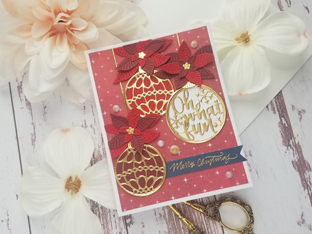 Spellbinders|Christmas Wishes November 2019 Card Kit Of The Month
