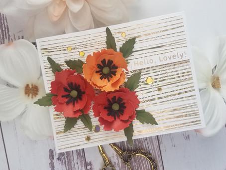 Spellbinders|Oriental Poppy