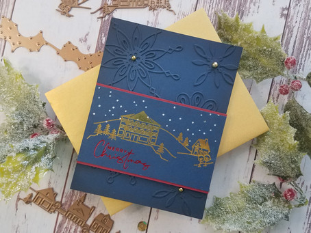 Spellbinders|Yana's Holiday Foiled Basics Collection