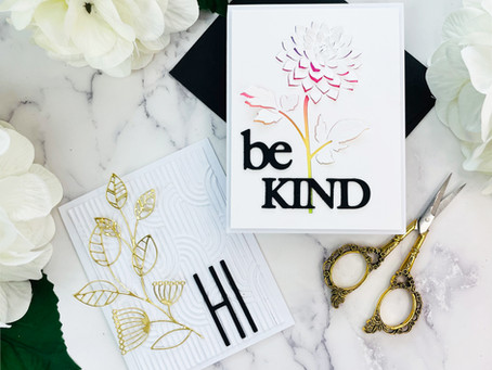 Altenew Mighty Kind Stand Alone Dies Collection Release Blog Hop + Giveaway