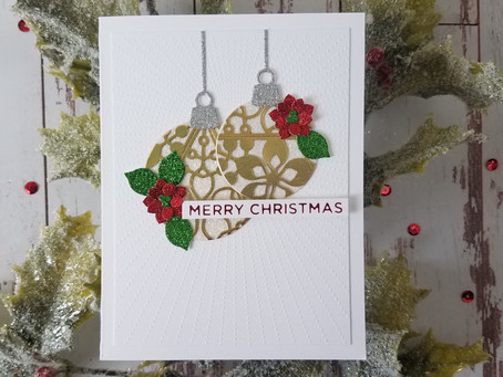 How to turn the Spellbinders Die D-Lites into Holiday Cards
