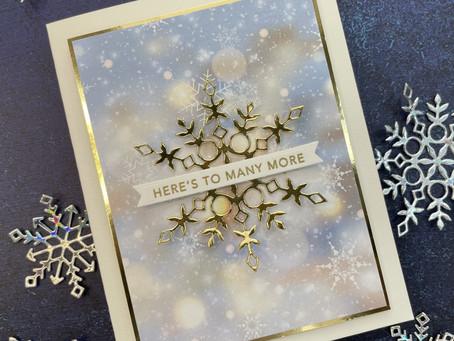 Simon Says Stamp|Non-Holiday Snowflake Cards