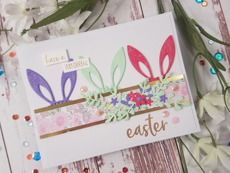 Spellbinders March Club Blog Hop & Giveaway
