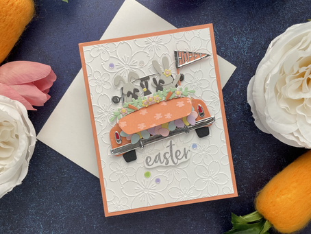 Spellbinders|Expressions Of Spring Collection..Hoppy Sunday Drive