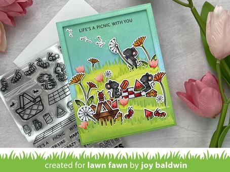 Lawn Fawn|How to Create a Fun Scene Card