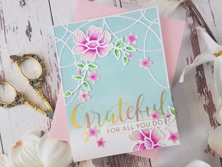 Spellbinders| Ornamental Floral Card Creator