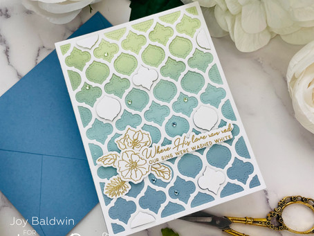 Honey Bee Stamps|Simple and Stunning..Ink Blending and Heat Embossing