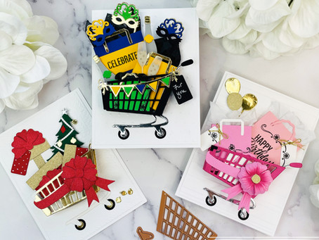 Spellbinders|Celebrate With The Add To Cart Collection