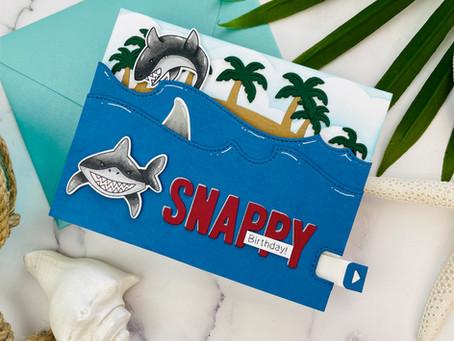 Shark Week Card Event Day 9|Newton's Nook