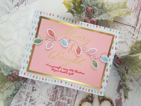 Spellbinders| Dancin' Santa Card Kit of the Month October