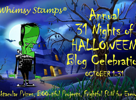 Whimsy Stamps|31 Nights of Halloween Blog Celebration