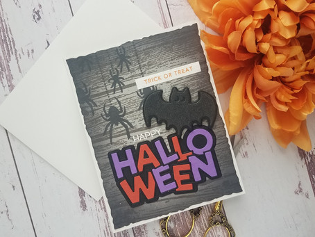 Simon Says Stamp|Trick Or Treat Halloween Card