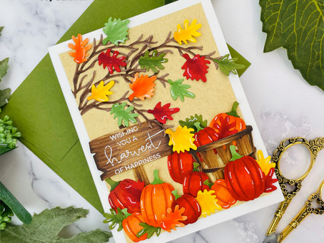 Spellbinders Blog Hop and Giveaway Featuring Holiday 2021 products