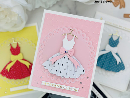 Spellbinders|Die Cut Patterned Paper|Truly Yours Collection