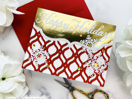 Spellbinders|Holiday Medley Collection By Becca Feekan