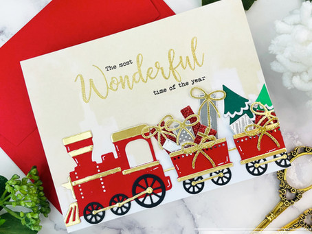 Spellbinders|All Aboard Christmas Kit