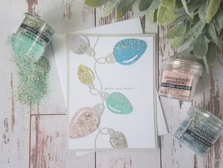 Ranger Ink's Speckle Embossing Powders